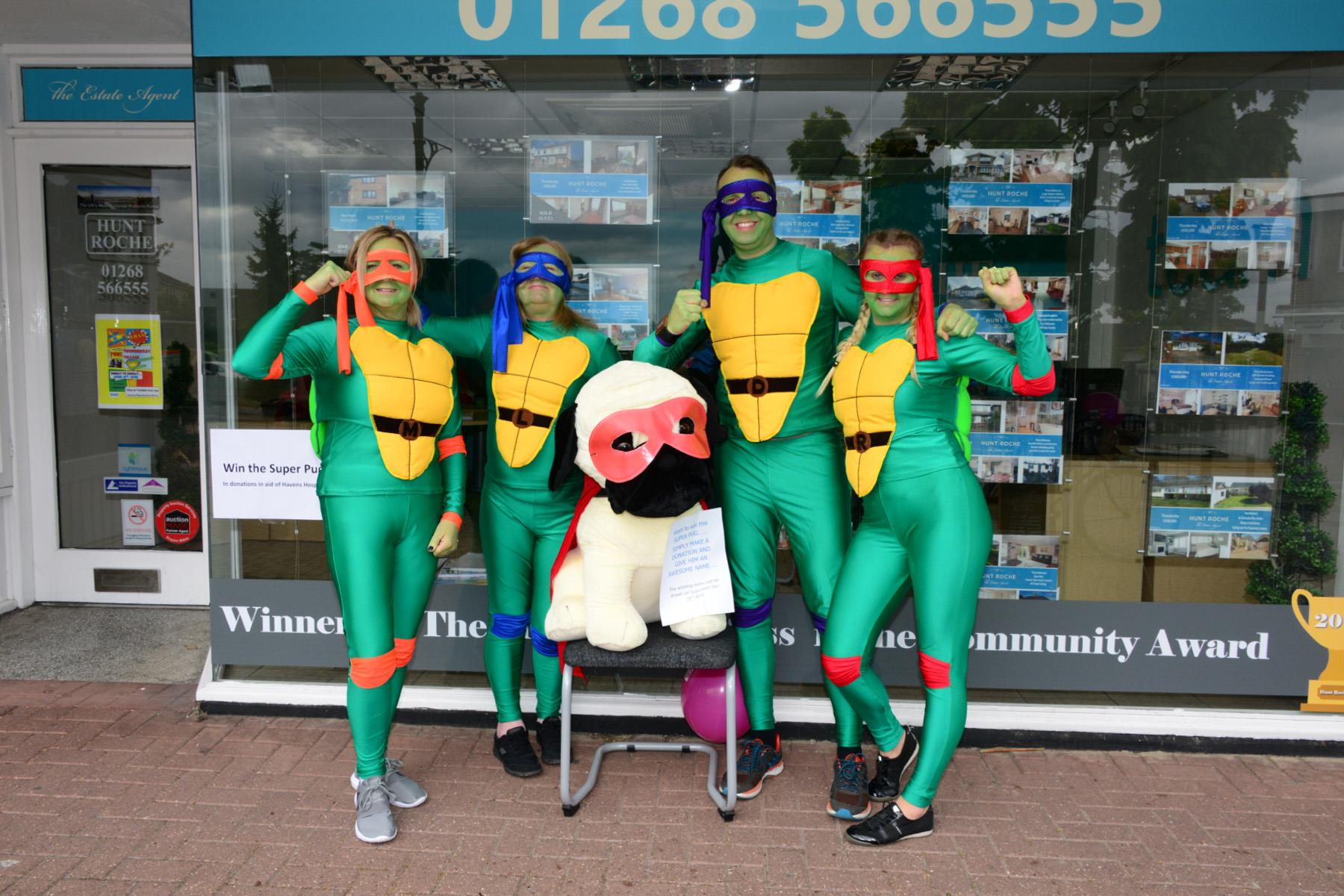 Hunt Roche looking 'Super' for charity